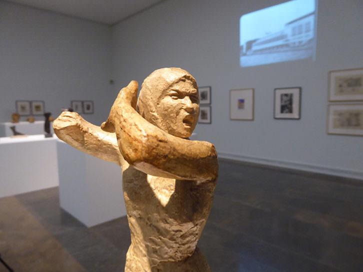Vista de la exposición de Julio González en el IVAM.