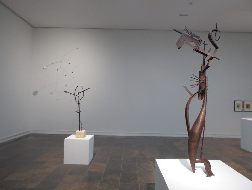 Obras de Julio González en el IVAM.