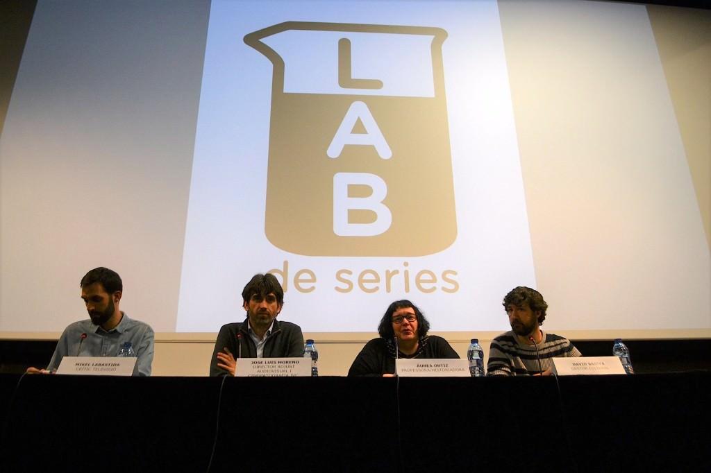 De izda a dcha, Mikel Labastida, José Luis Moreno, Áurea Ortiz y David Brieva. Imagen cortesía del IVC.