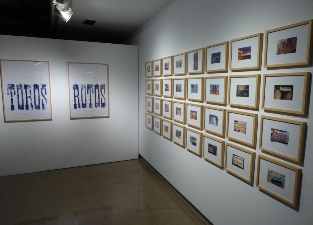Vista de la exposición 'Lloc de paraules', de Tomás Gorria. Foto: Makma