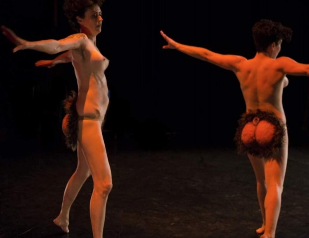 Escena de 'Cul Kombat', de la compañía Patrícia Pardo. Imagen cortesía de Sala Ultramar.