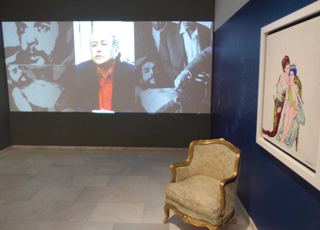 Vista de la exposición de Jorge Ballester en Fundación Bancaja. Foto: Makma.