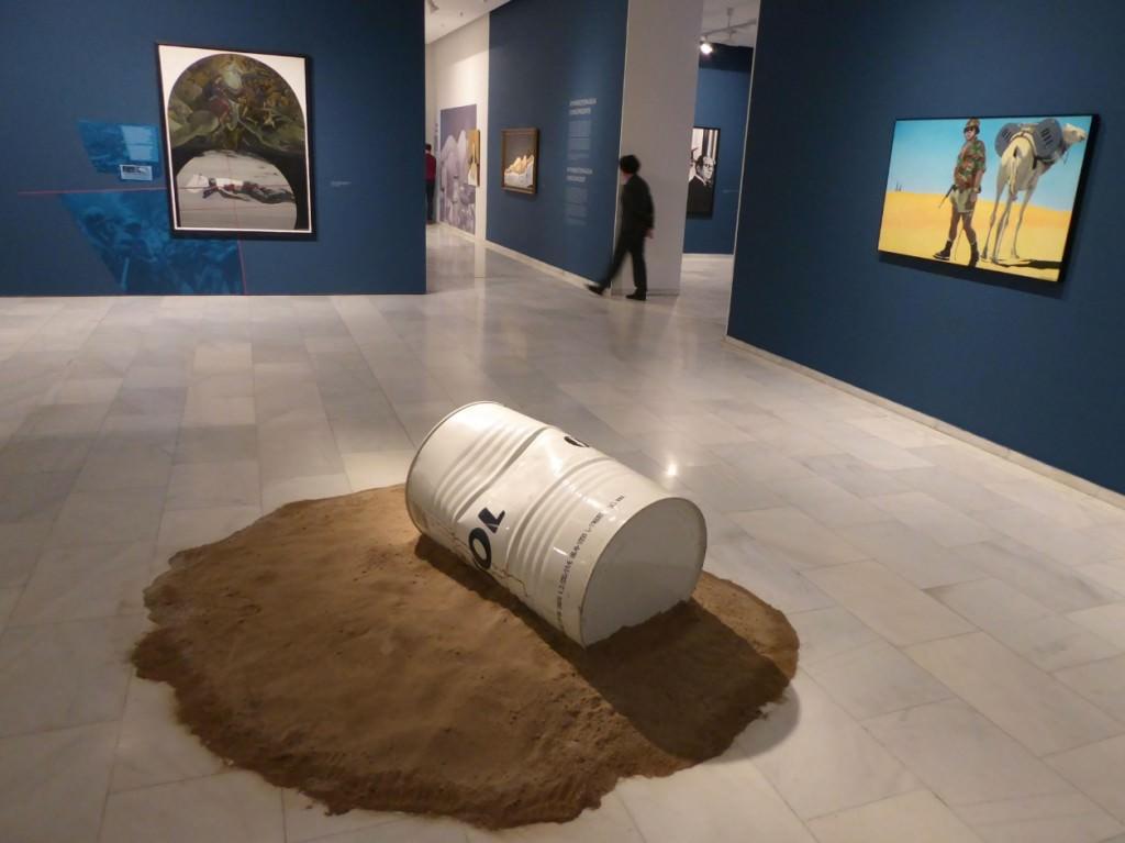 Vista de la exposición de Jorge Ballester en Fundación Bancaja. Foto: Makma