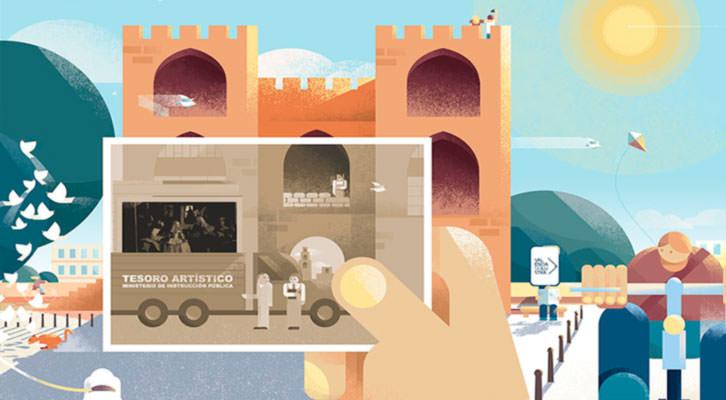 36 Ilustradores 'pintan' Valencia