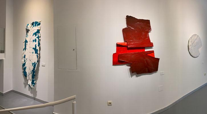 Forner recupera la pintura expansiva en Alba Cabrera
