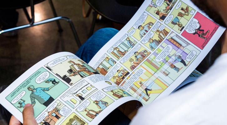 Las entretelas del IVAM en un cómic de Paco Roca