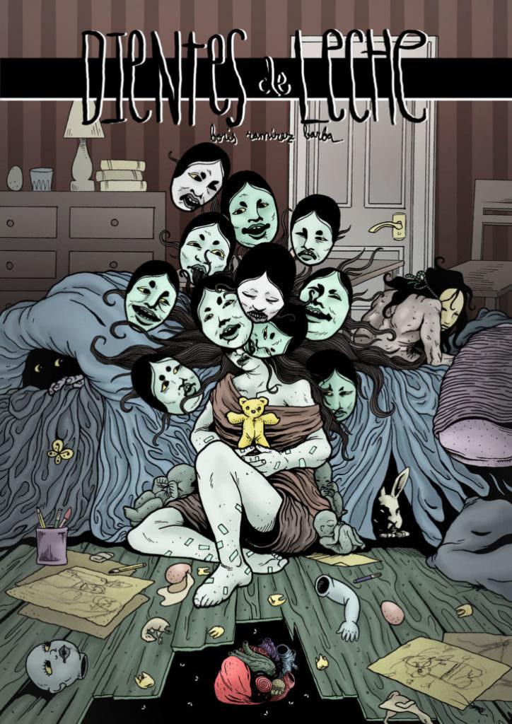 Portada del cómic Dientes de Leche, de Boris Ramírez Barba