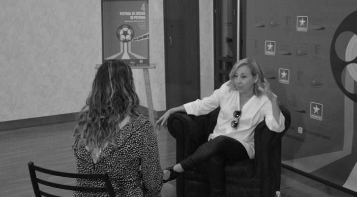 Carmen Machi en la entrevista con MAKMA
