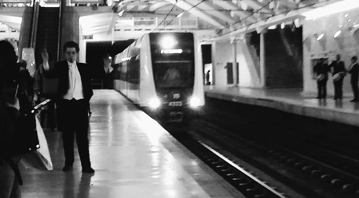 El metro de València da la nota