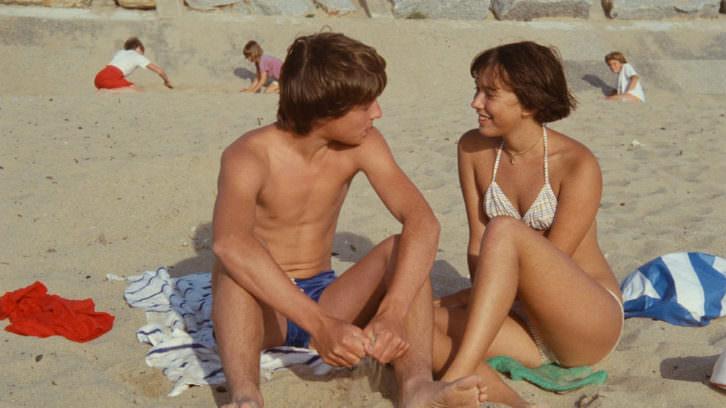 Pauline en la playa,