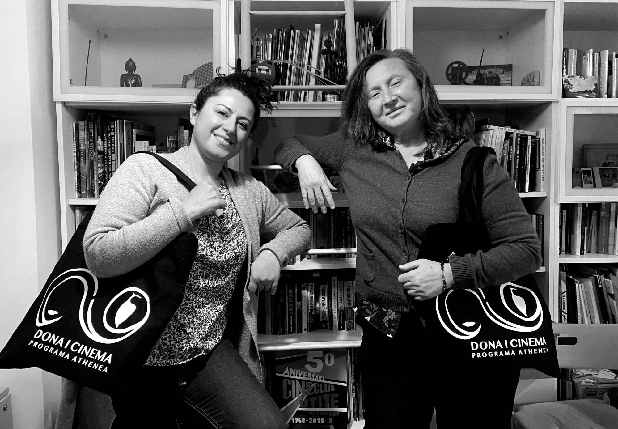 Deborah Micheletti y Giovanna Ribes, directoras de Dona i Cinema.