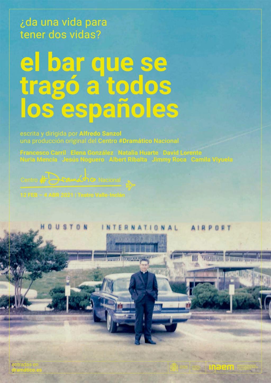 El bar que se tragó a todos los españoles, de Alfredo Sanzol