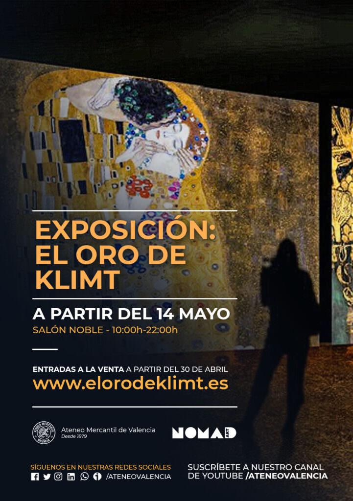 Gustav Klimt, El oro de Klimt, Adele Bauer, Ateneo Mercantil de València