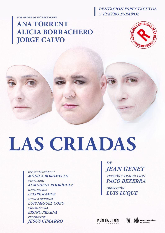 Las criadas, de Jean Genet. Teatro Olympia de València