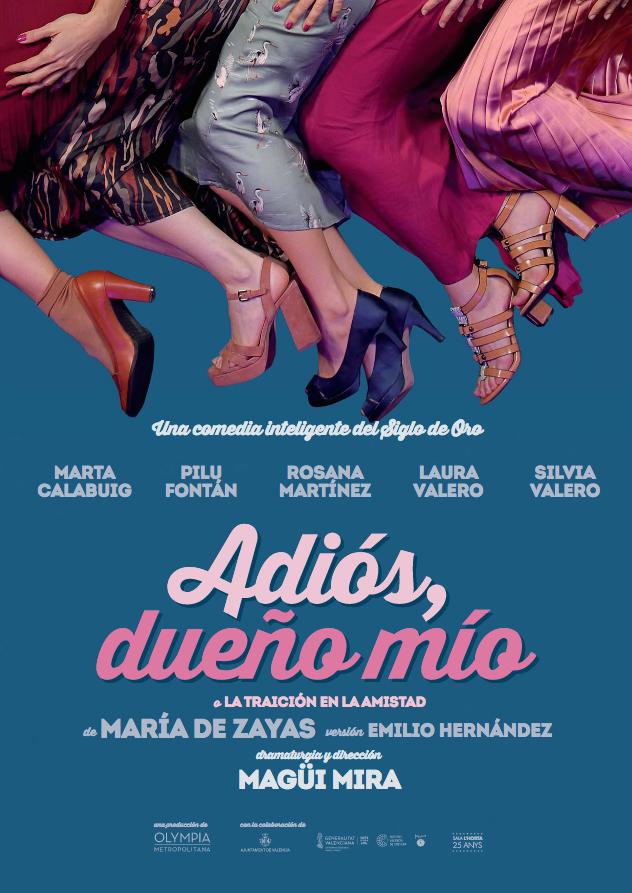 Magüi Mira, Teatre Talía, María de Zayas,
