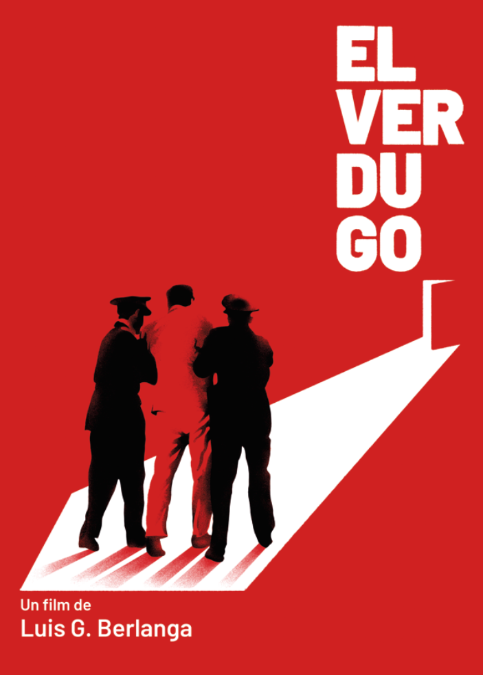 'El verdugo'. Cartel realizado por Juan Miguel Galera y que forma parte del proyecto 'Berlanga ilustrado. 34 carteles, 17 películas', comisariado por MAKMA.