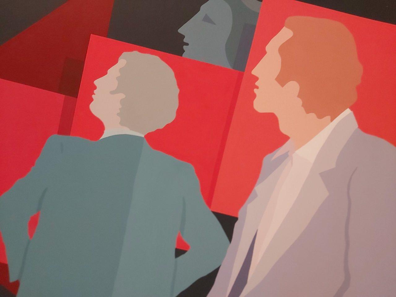 Fundación Chirivella Soriano. Obra de Luís Prades, en la exposición 'Pintura Española. Segunda Mitad del siglo XX', en el Museo de la Ciudad.