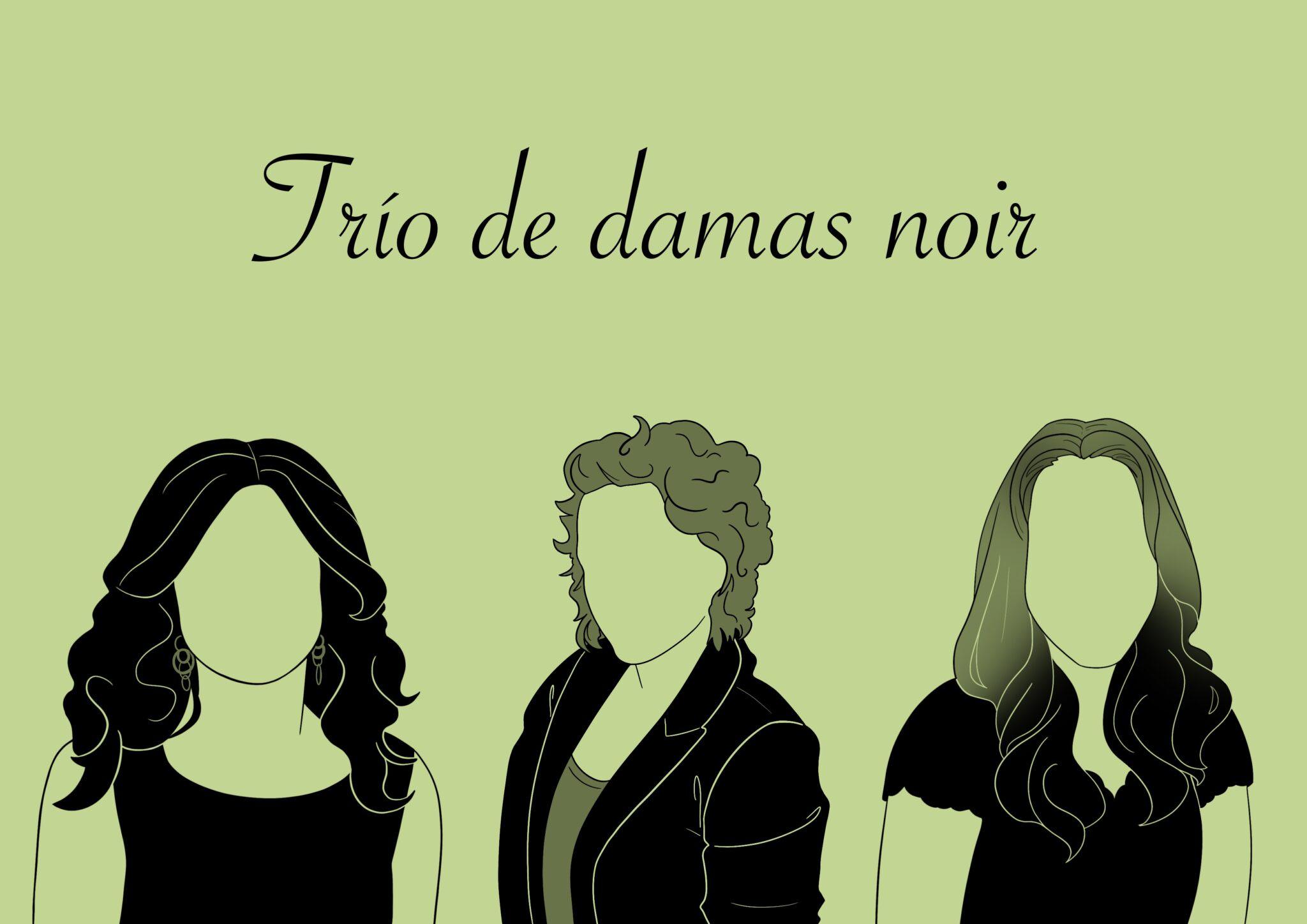 Susana Gijón, Paz Castelló y Mª Carmen Copete. Ilustración de Kai Marrón.
