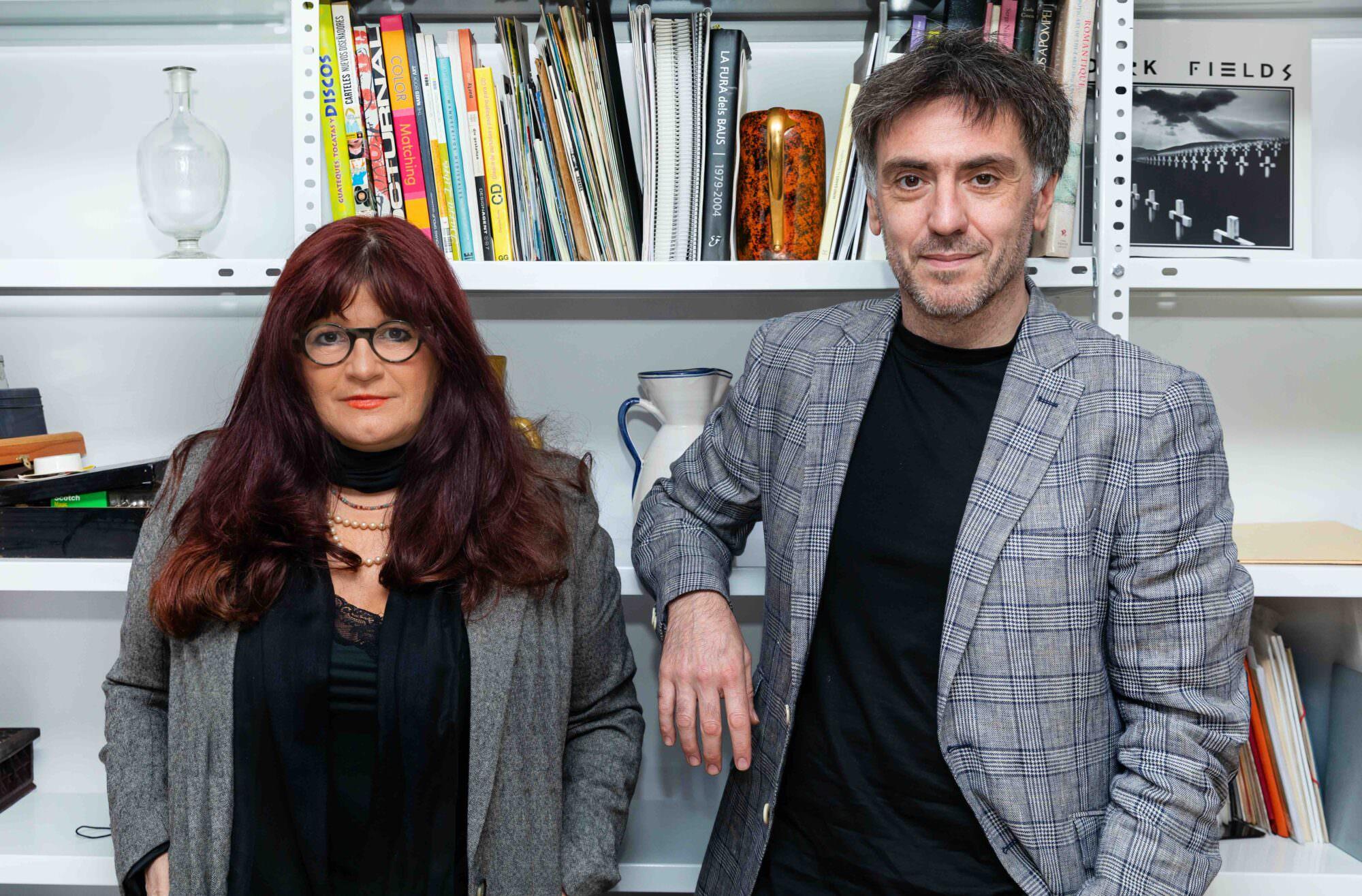 Cristina Casanova y Andrea Contino
