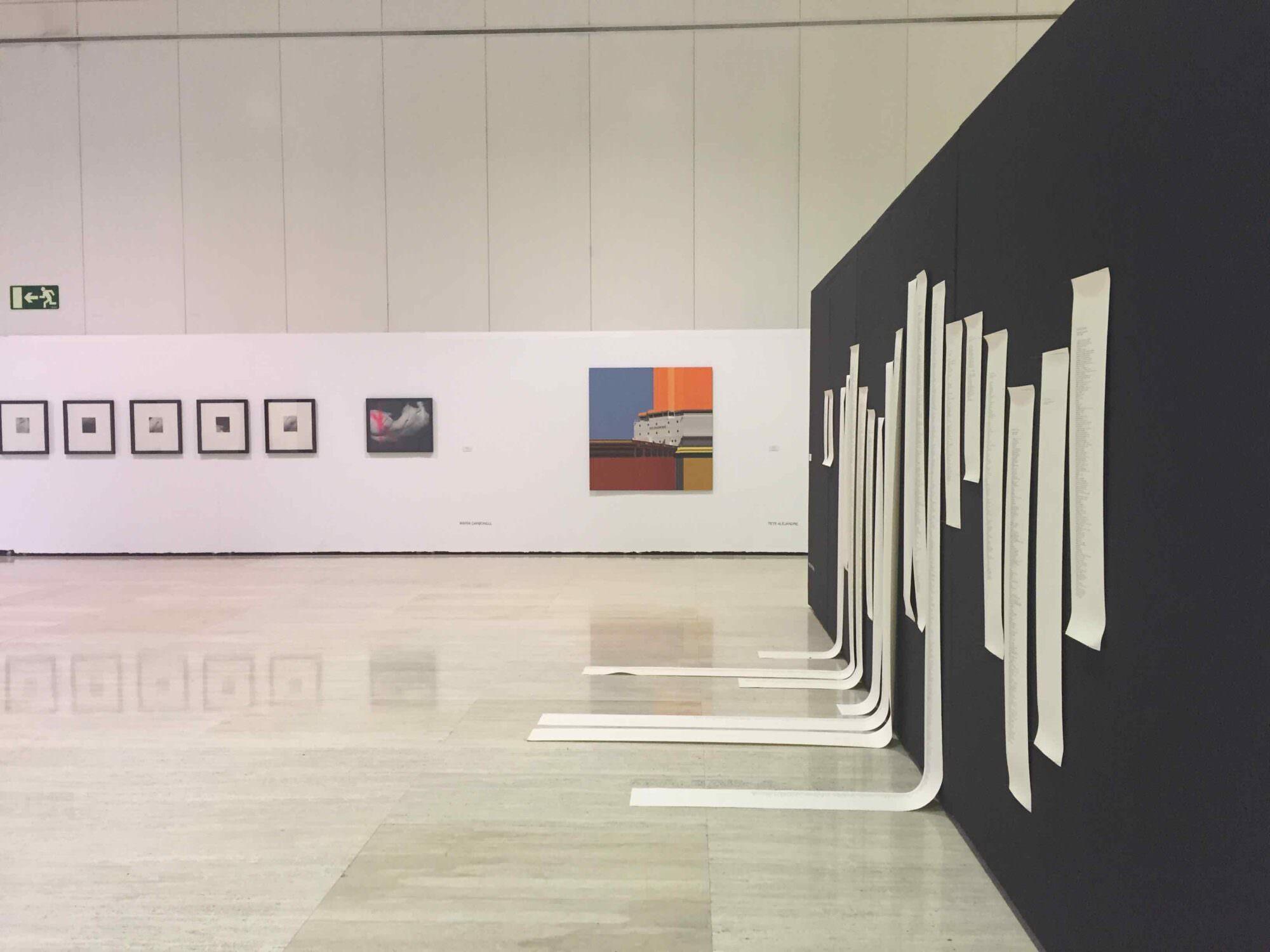 XXI Concurso Encuentros de Arte Contemporáneo (EAC) en el MUA. Foto: María Ramis.