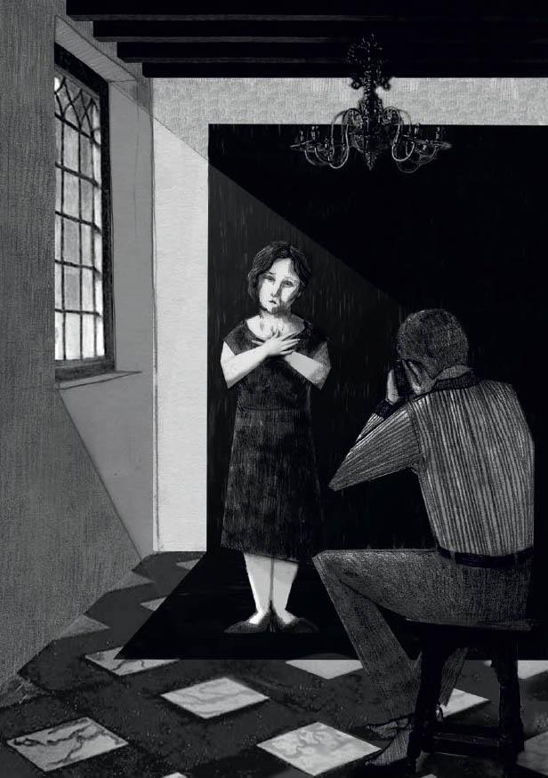 Ilustración de Alba Ramiro. Imagen de Isabel Díaz Ayuso