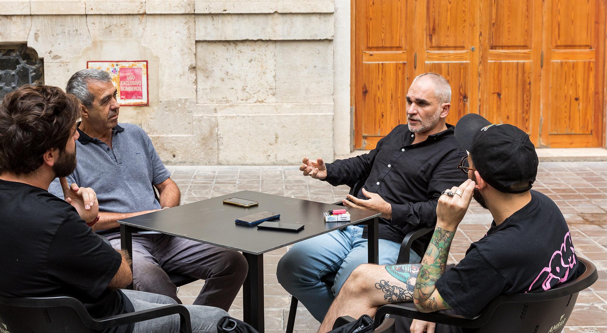 Ismael Chappaz y Jorge López